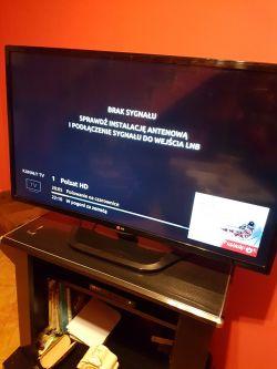 Cyfrowy Polsat brak kanału Polsat. Wejście LNB