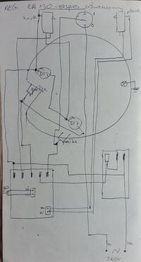 AEG EA150 - Ekspress ciśnieniowy rozłożenie obudowy w celu wymiany grzałki