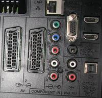 BOSE AV321 & SONY LCD32 EX500 - Podłączenie DVD Bose z LCD Sony.
