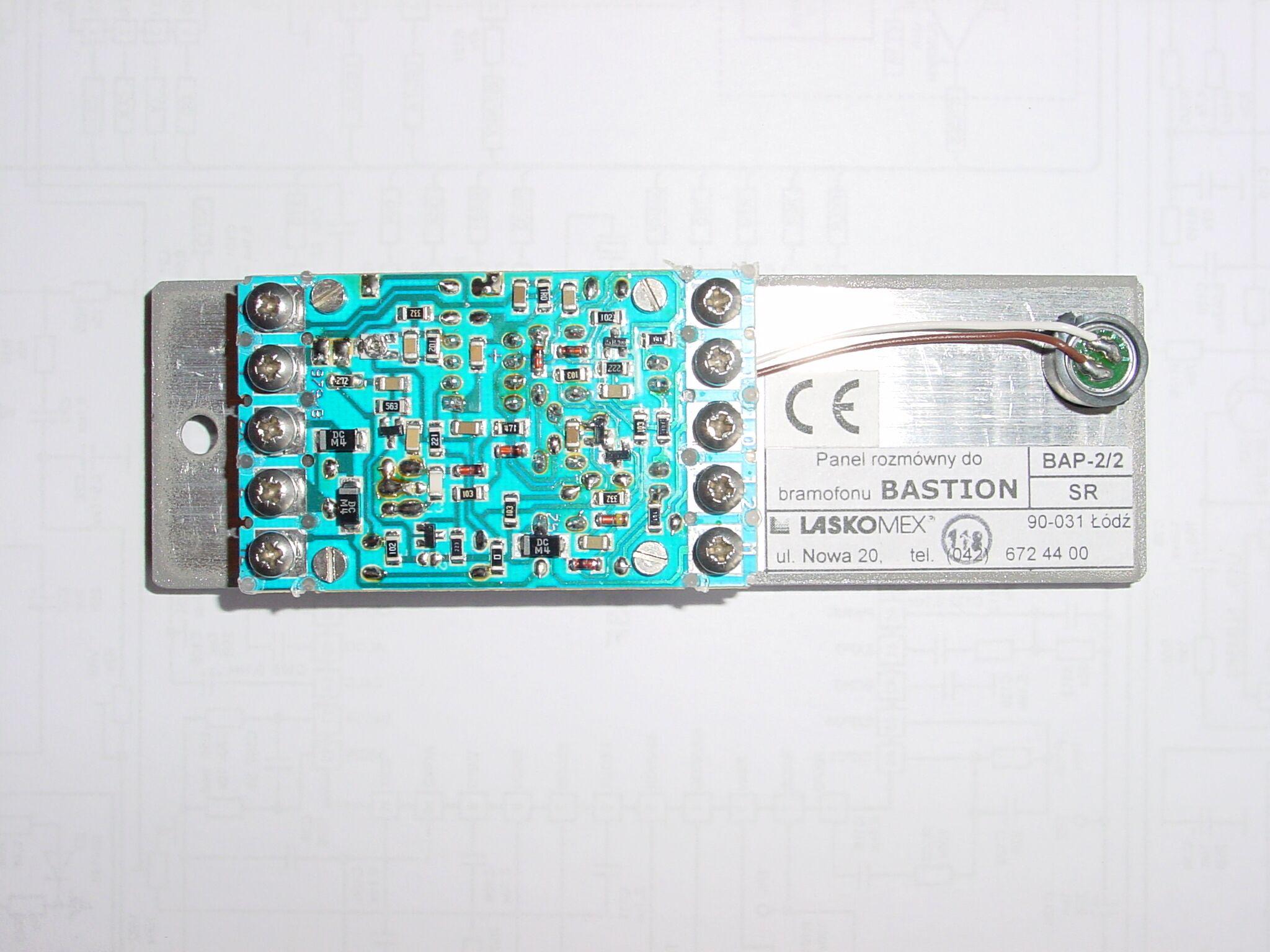 unifon 1140/42 - Pod��czenie kasety rozm�wnej z unifonem