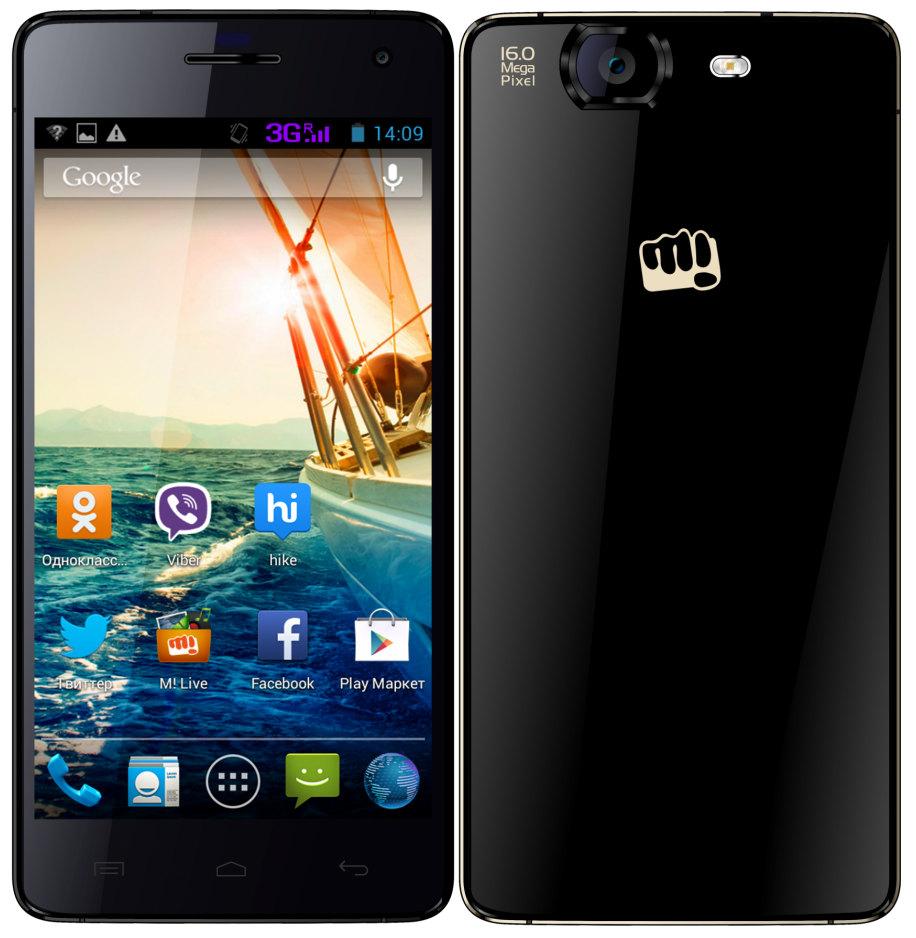"""Micromax Canvas Knight - smartphone z 5"""" 1080p, 8x2GHz, 16Mpix w sprzeda�y"""