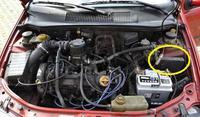 Fiat Siena 1.4 - Nie można odpalić, zwarcie na zegarach, pstryka przekaźnik