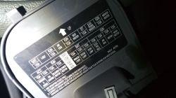 Nissan micra k12 - Micra k12 bezpiecznik światła wstecznego