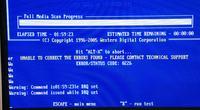 Dysk Samsung HD103SJ nie działa.