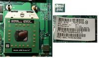 HP Compaq 6715s - Uszkodzona płyta, nie wyświetla obrazu