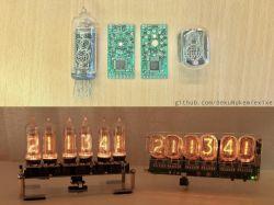 Miniaturowe niedrogie drivery do lamp Nixie