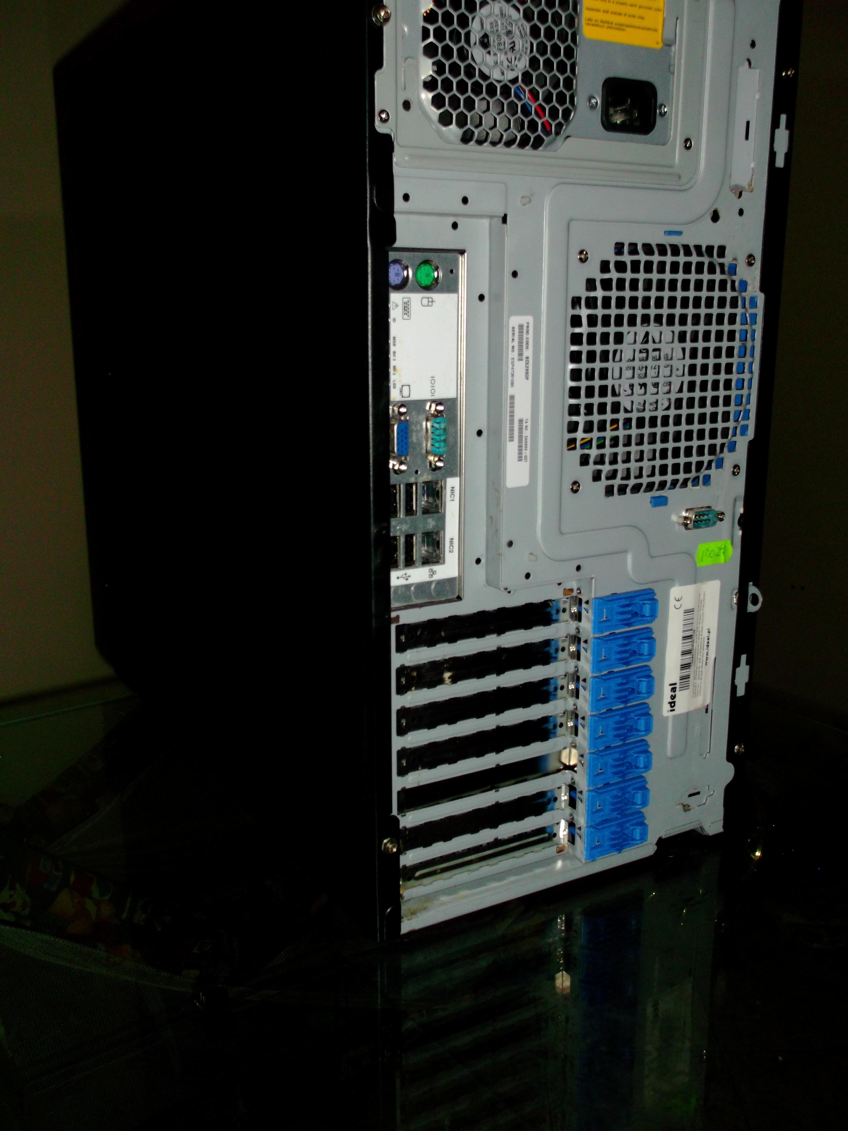 [Sprzedam] Serwer Intel Xeon dwuprocesorowy z RAID