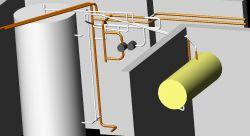 Przyłączenie bufora ciepła do starej instalacji CO