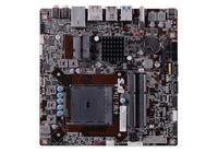 ECS A78F2-TI - p�yta thin Mini-ITX z FM2+, obs�ug� APU AMD i zasilaczem DC-DC