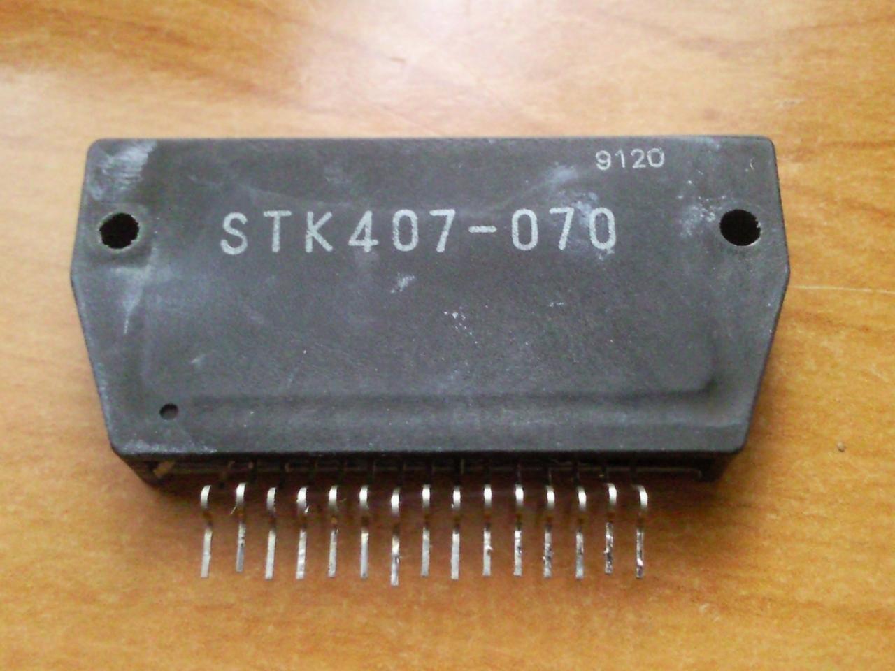Stk407-070 datasheet