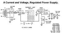 Regulowany ogranicznik prądu LM350