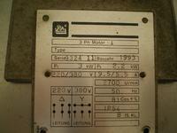 Silnik 3F - dwie moce na tabliczce znamionowej