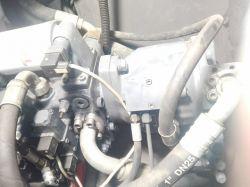 Mecalac 12mxt zwiększenie mocy hydrauliki ogranicznik udżwigu