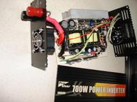 Przetwornica napiecia 700W - Pro User INV800 - uszkodzone kondensatory