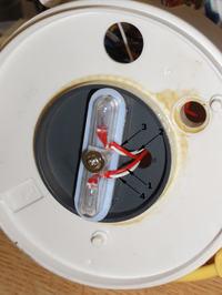 Karuzela Fisher Price C0108 - Gdzie przylutować oderwany kabel