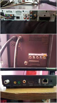 Samsung UE40EH5000W - podłączenie dekodera oraz kina domowego