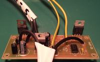 Regulator napięcia DC,technologia PWM,tranzystor mosfet-niedozwolone zasilanie