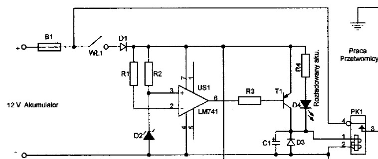 Przetwornica 12/220 230 W  na sg3524