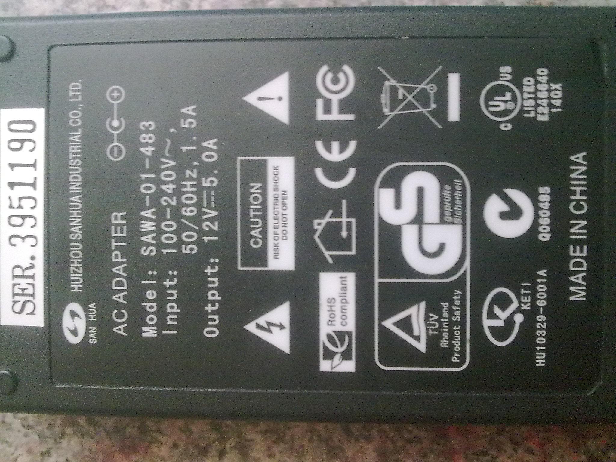 Zasilacz AC/DC do telewizora LCD