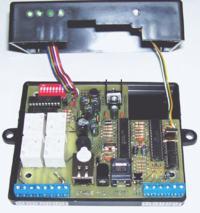 SterNet-4PK Sterownik internetowy do 99 wyjść (ENC28J60 + ATmega88)