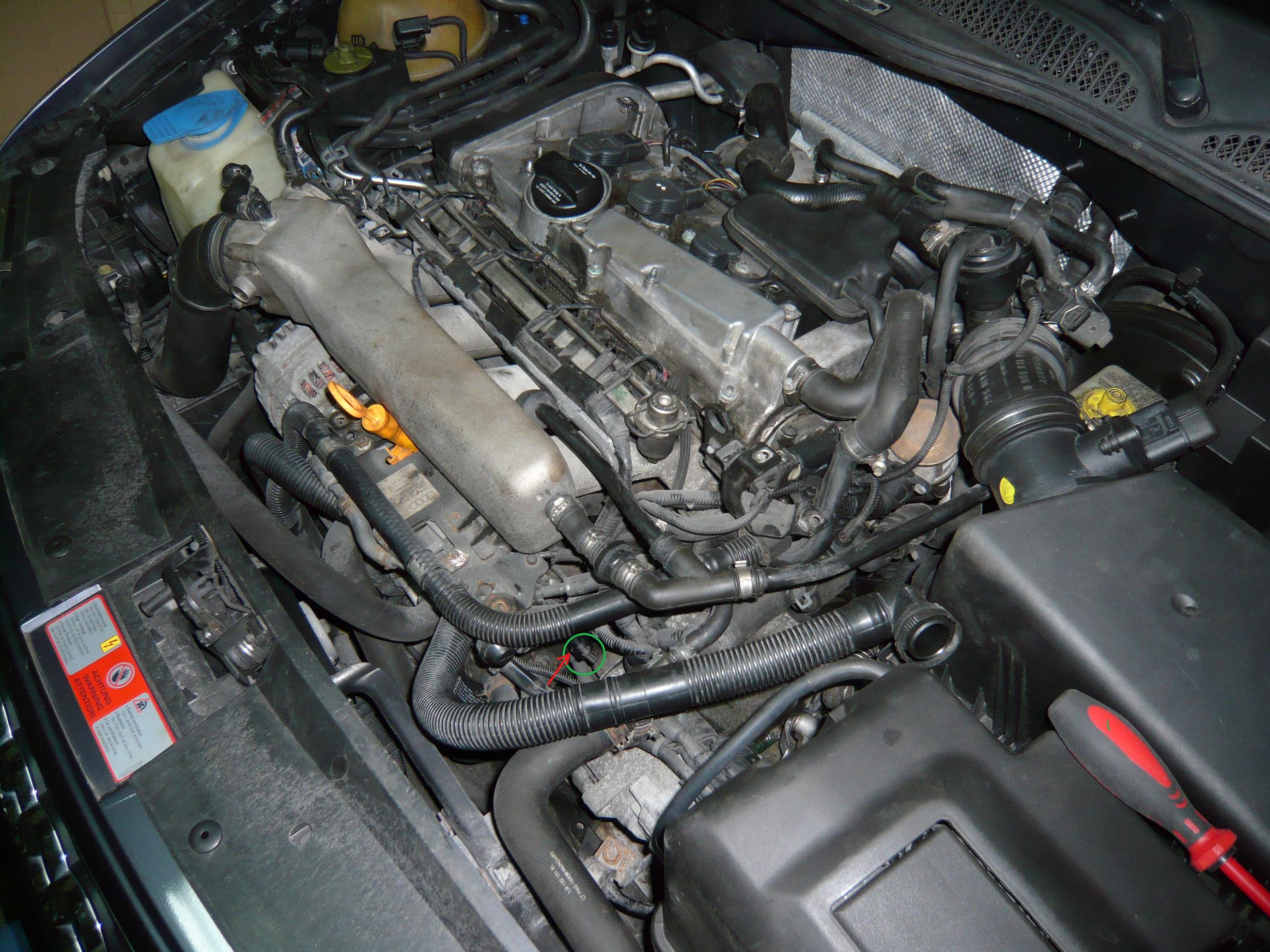 Audi A3 1 8 T Kontrolka Oleju Oliwiarka I Brzęczący