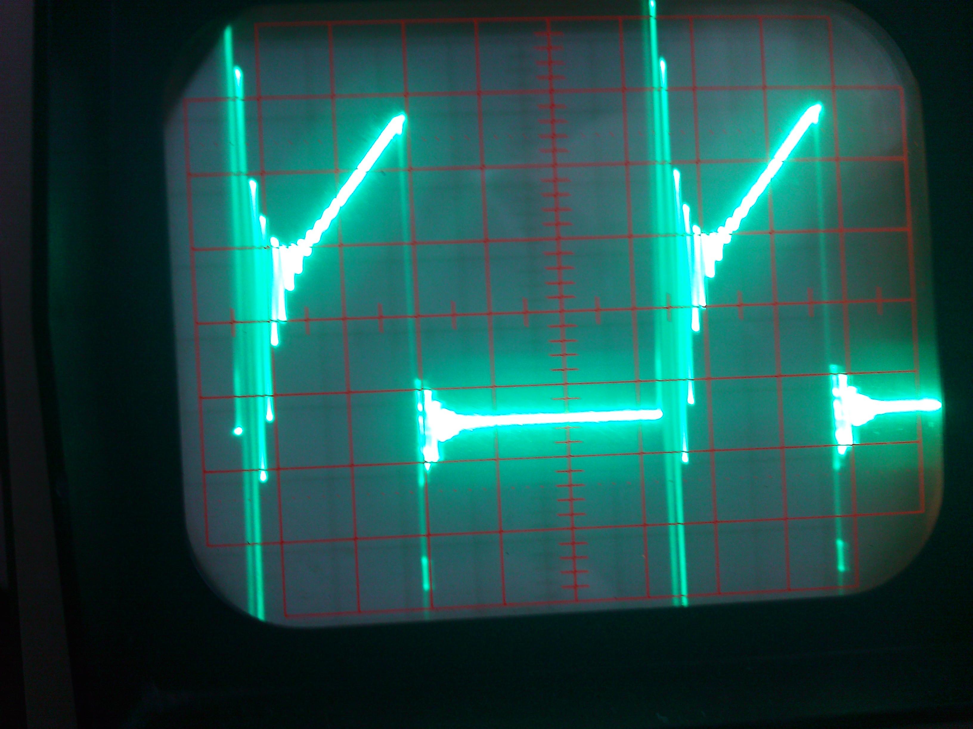 Przetwonica boost na UC3843 - analiza przebieg�w