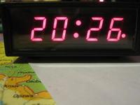 Zegar do warsztatu i nie tylko na LM8560.