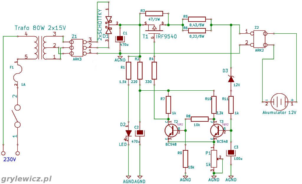 Automatyczny Prostownik Diy By Hswg Elektroda Pl