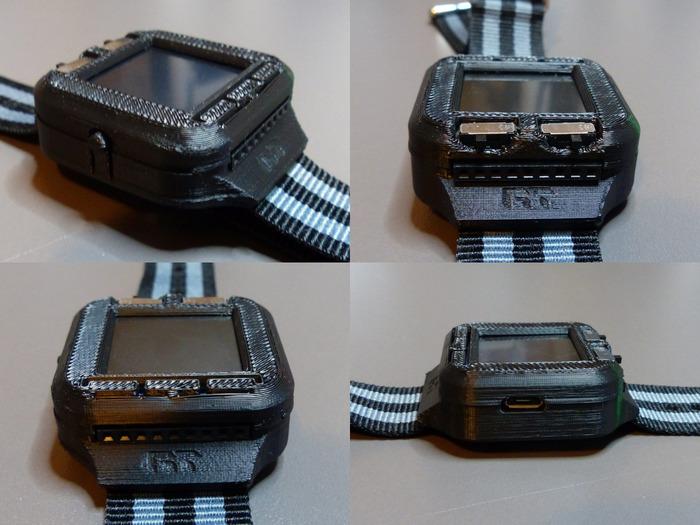 Oscyloskop w zegarku - projekt.