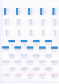 Kyocera FS-C5200 - Rozjechane kolory