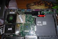 Dell D505 - Prosz� o rezpoznanie scalaka na p�ycie g��wnej (zasilanie inwertera)
