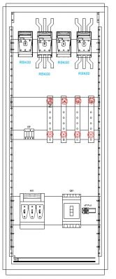Zastosowanie RBK przy wkładkach na 160 A a dużym przekroju przewodu