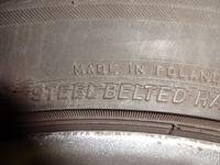 Mikropęknięcia opon Bridgestone Potenza RE050A 245/45R18