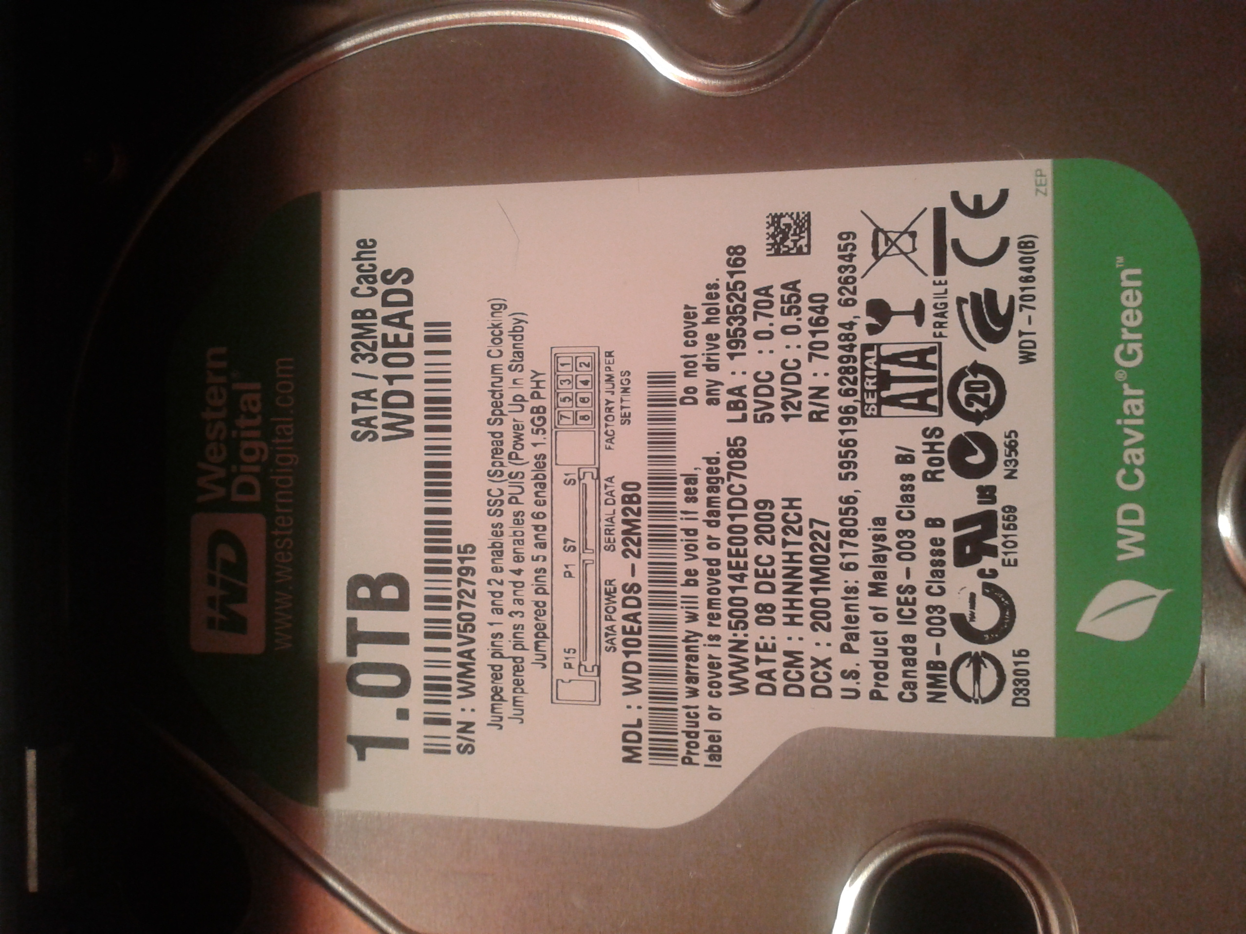 Rejestrator 4CH H.264 DVR wy�wietla si� error