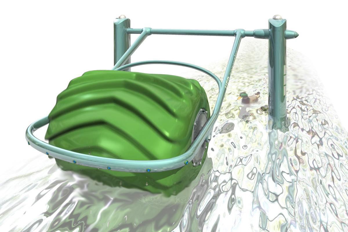 HEB - przeno�na minielektrownia wodna