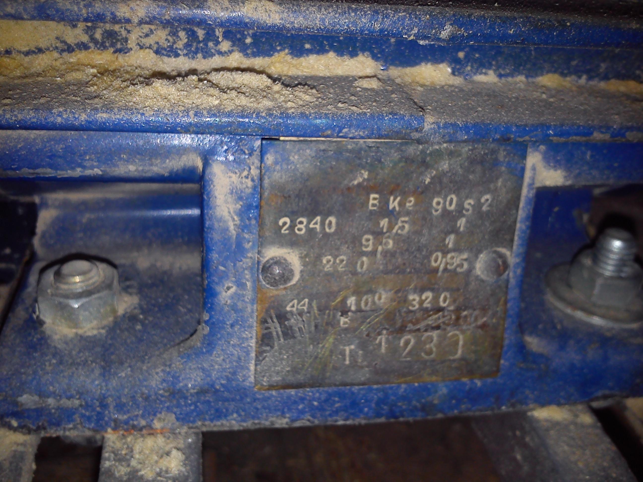 Silnik elektryczny - Jakie parametry a co za tym idzie kondensator rozruchowy