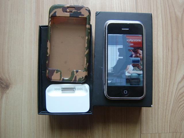iPhone 2G 8GB - zablokowany? Zna kto� ten b��d/komunikat ?