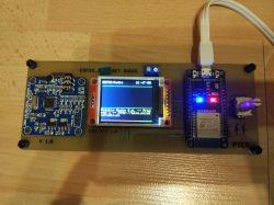 Moduł WiFi - ESP32 + DS18B20, radio internetowe i głośnik BT