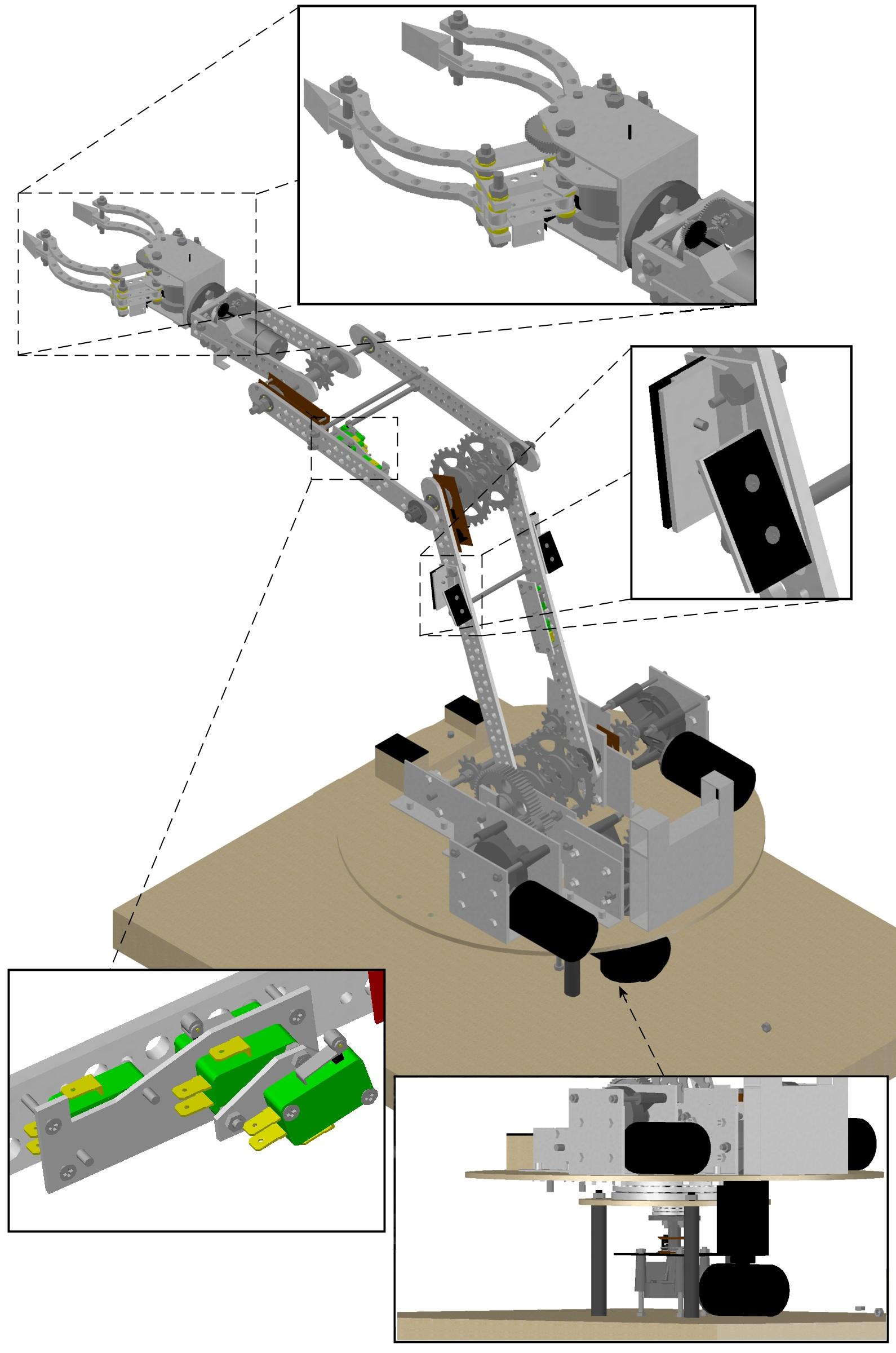 Kuty Manipulator - Robot manipulacyjny o pi�ciu stopniach swobody z chwytakiem