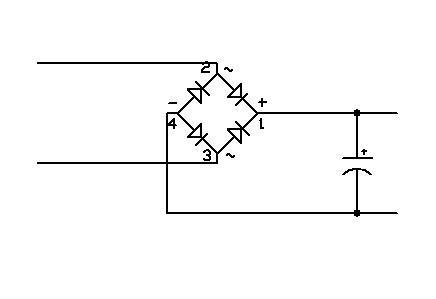 jak zamienić prąd zmienny w prąd stały?