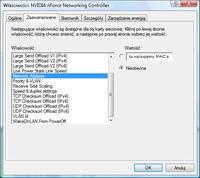 Problem ze zmianą MAC/Kartą sieciową/Łączeniem sie