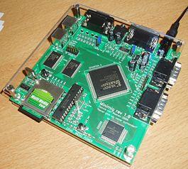 Demonstracja możliwości Atmega88 (dzwięk+obraz)