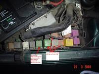 Omega B 3.0, po umyciu silnika umarła klima i wentylatory