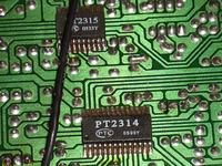 Uszkodzenie selektora wejść amplitunera Akira BK166