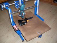 Frezarka CNC domowej roboty
