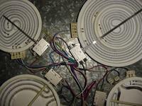 Płyta ceramiczna Amica PB4VP006 uszkodzone pole grzewcze