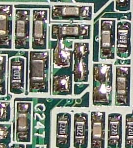 Ciągły reset komputera wymiana płyty