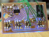 Czterokanałowy sterownik IR lub RF(433MHz) - 230V
