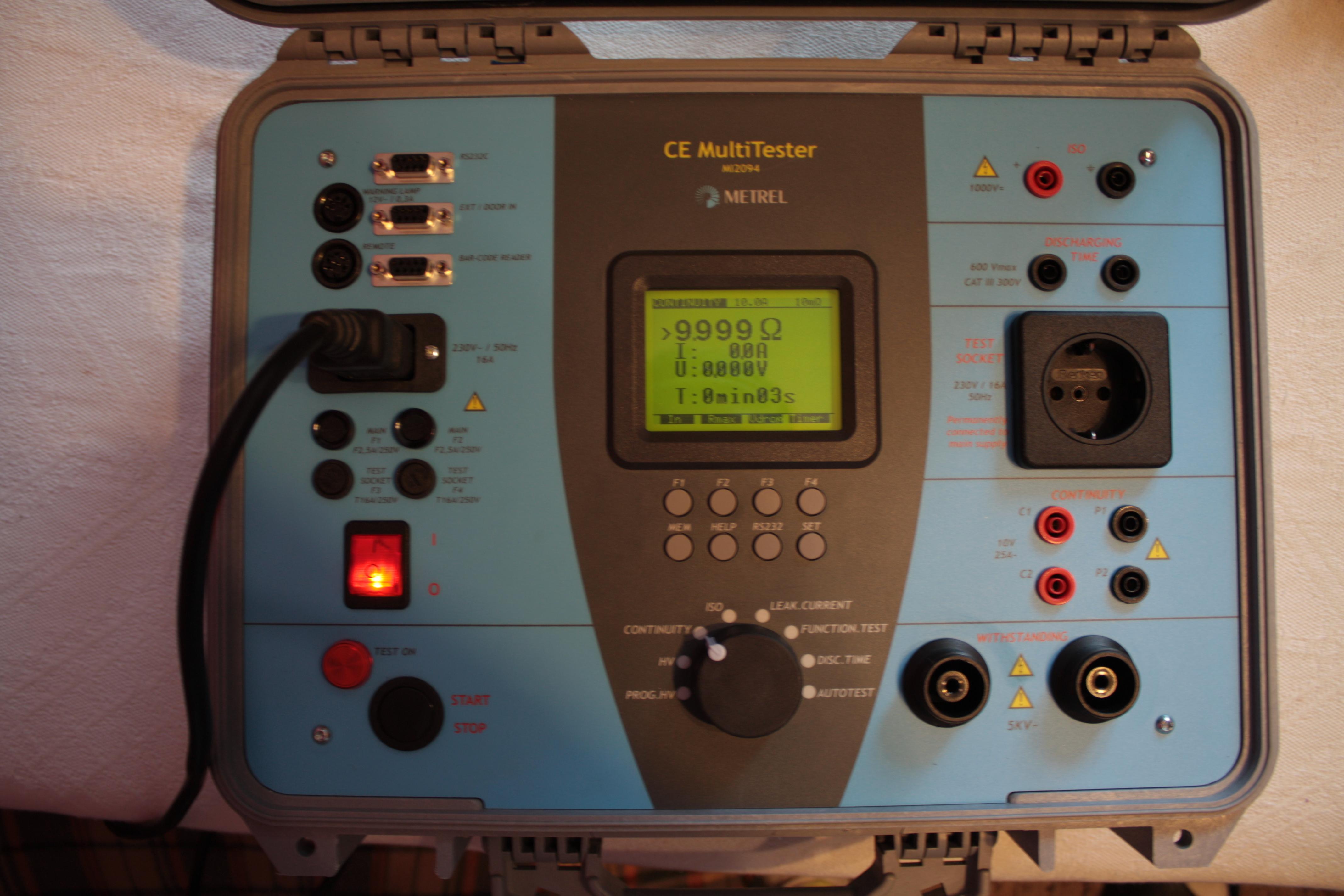 [Sprzedam] Metrel MI2094 Multitester CE tester bezpiecze�stwa