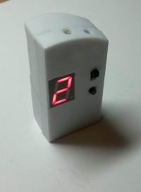 Zdalny mini częstotliwościomierz / obrotomierz / licznik impulsów